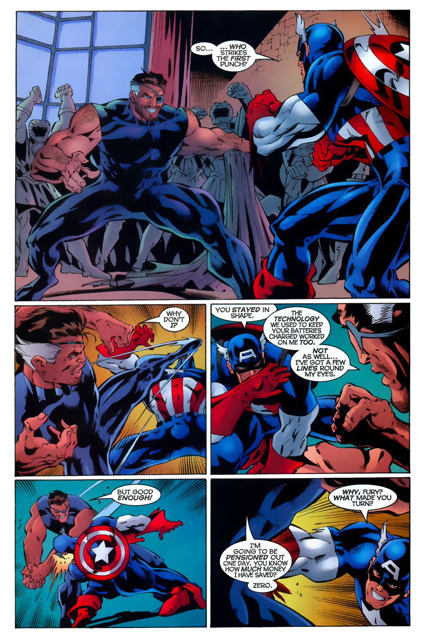 Captain America (1996) Issue #11 #11 - English 12