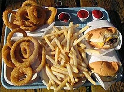 Efek Buruk Burger & Kentang Goreng