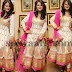 Niloufer Cream Party Wear Salwar