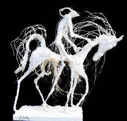 mes sculptures , à Deauville  galerie la boheme, à Rouen galerie la calende ;  web : www.glabik.fr