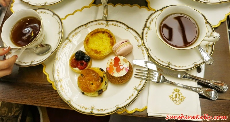 Tea For Two, Newens Tea House, Starhill Gallery, Kuala Lumpur, Maids of Honour Tarts, British Tea House, English Tea