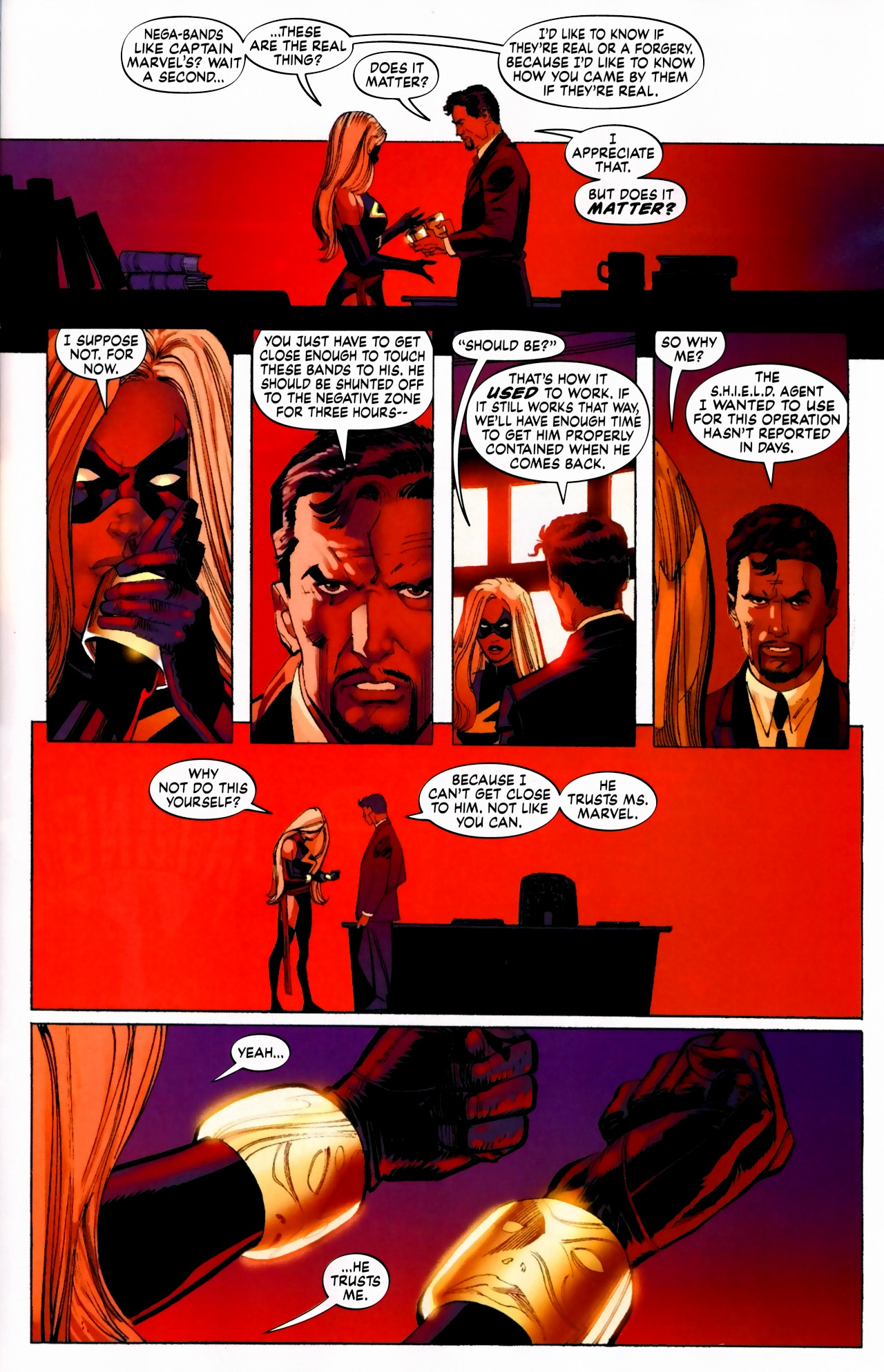 Read online Secret Invasion: The Infiltration comic -  Issue #5 - 20
