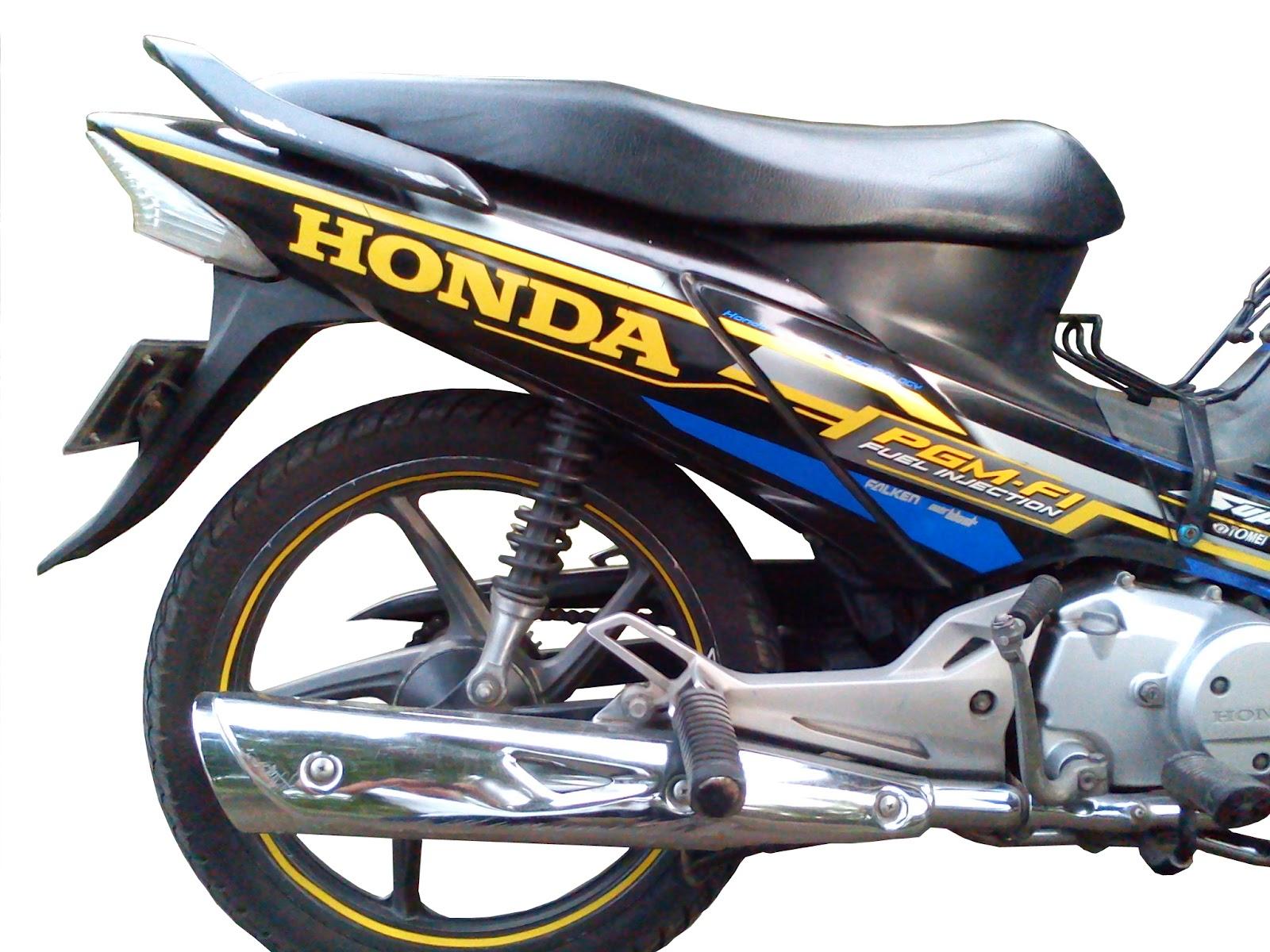 honda pgm-fi 125 fuel injection sepeda motorku ...