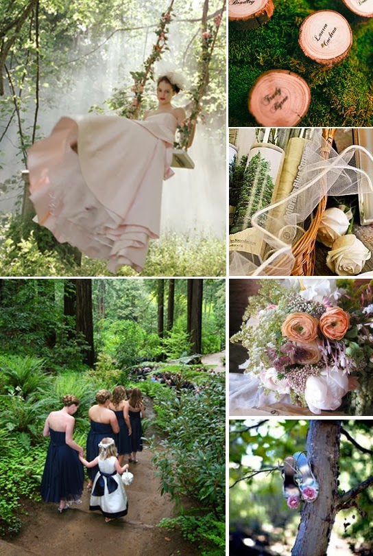 Memorable Wedding A Forest Theme Wedding