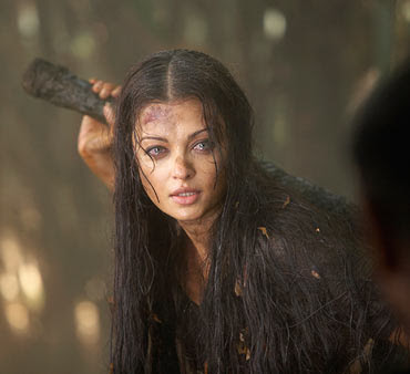 Aishwarya Rai Without makeup in Raavan 3