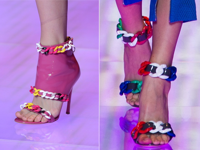 versus spring 2013, spring 2013 trends, milan fashion week, versus, spring 2013 shoes