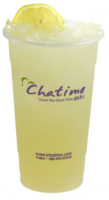 Lemon drinks Festival in Chatime