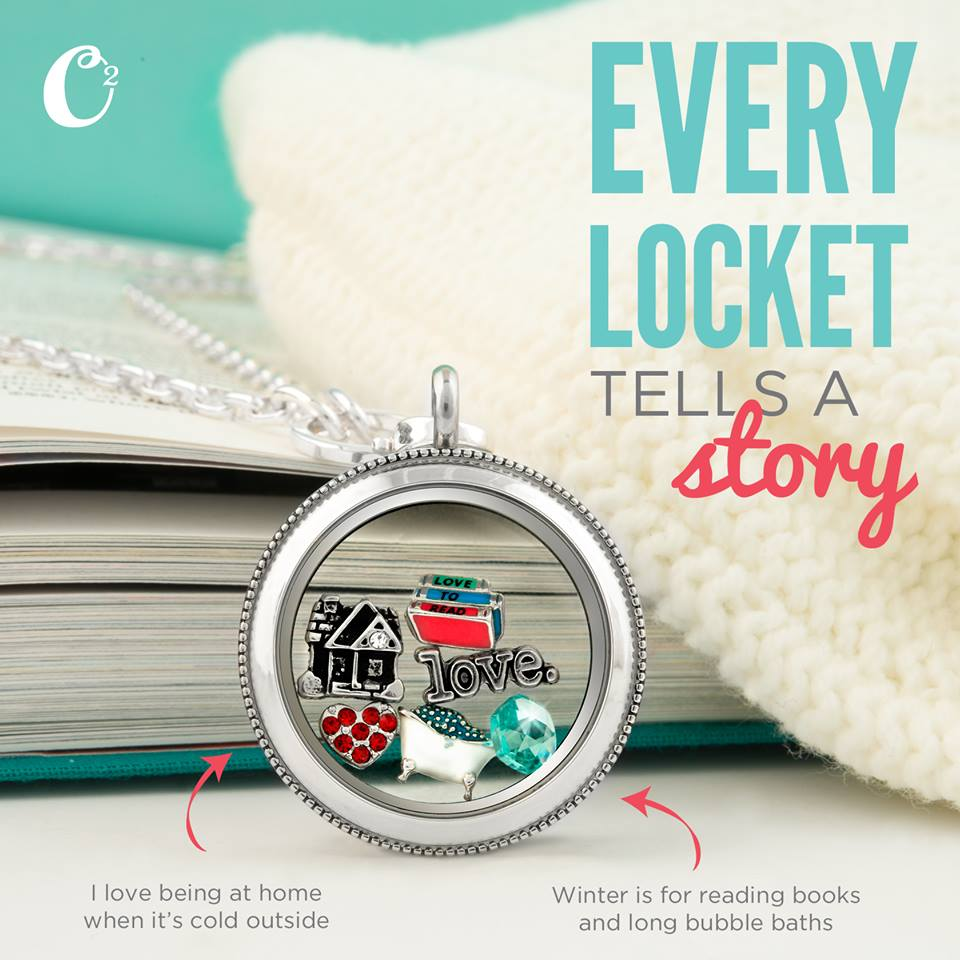 No Place Like Home Origami Owl Living Locket | Come create your own Locket today at StoriedCharms.com