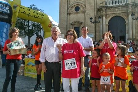 ganadoras de las diferentes categorías fueron Marta de los Santos, de