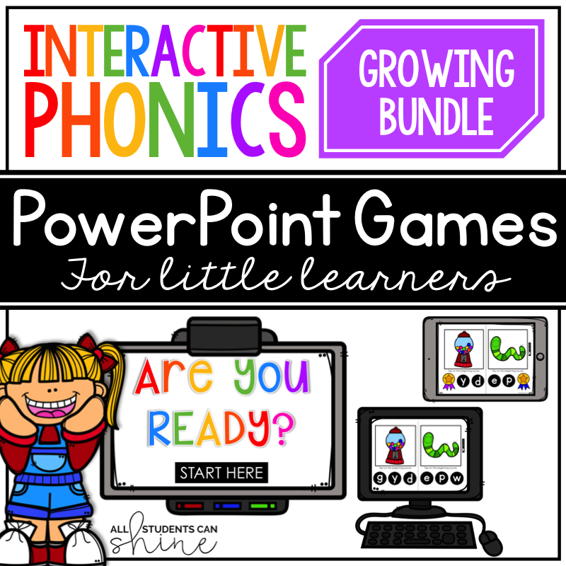 Click here for interactive phonics games