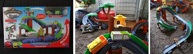 TOMY Chuggington, Chuggington Die-Cast, Train track toy