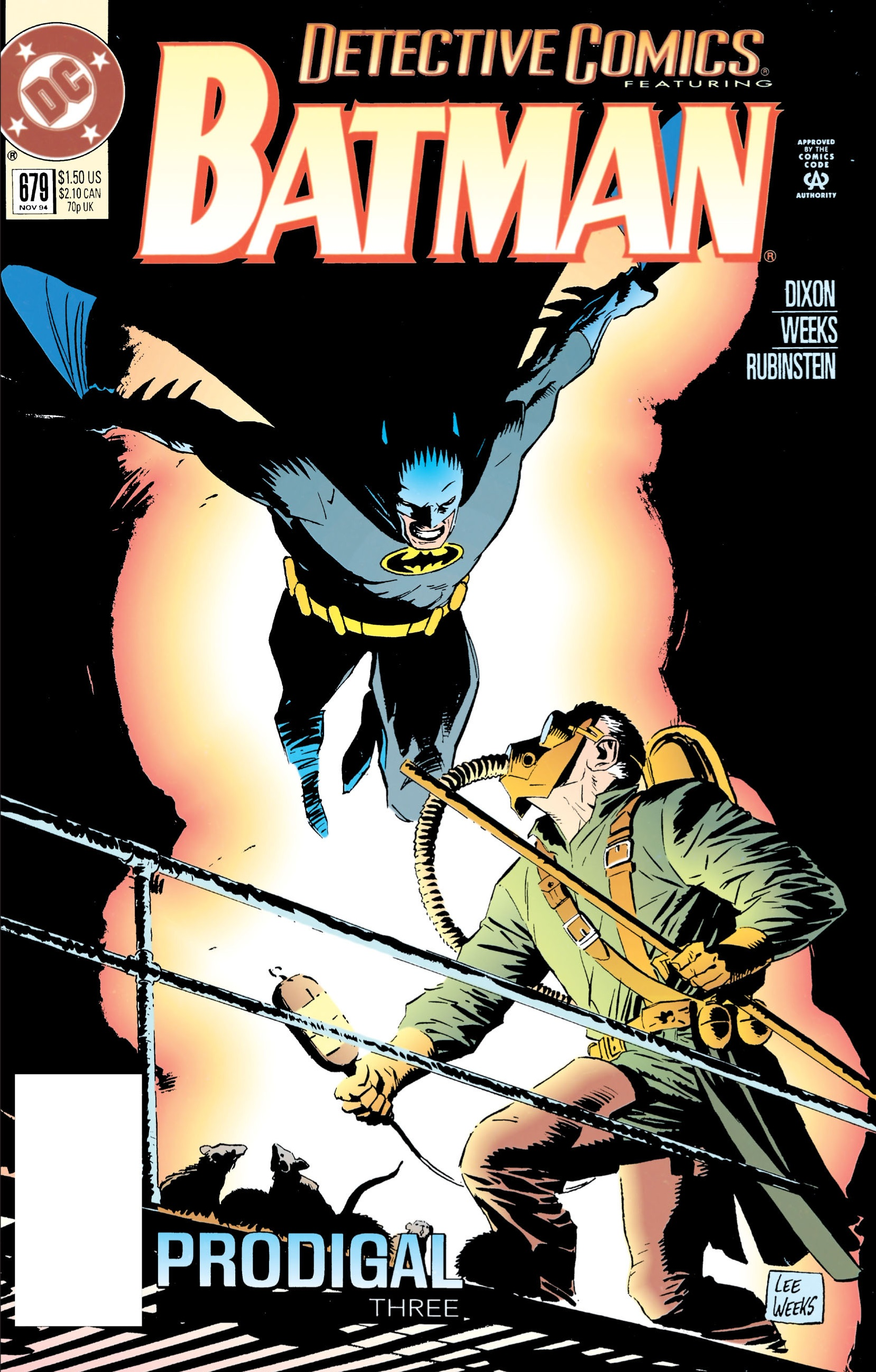 Detective Comics (1937) Issue #679 Page 1