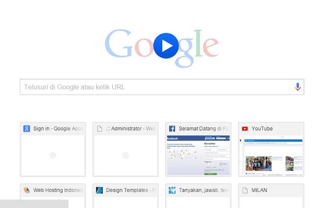 Google ganti logo