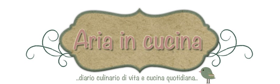 Blog di cucina di Aria