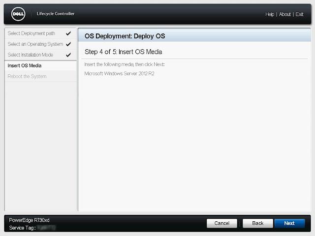 Komunikat o włożenie nośnika z systemem operacyjnym