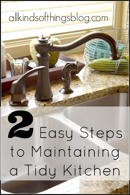 Maintaining a Tidy Kitchen