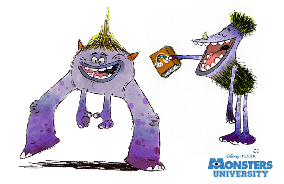 Pixar Character Design Book : The art of monsters university detailed book review