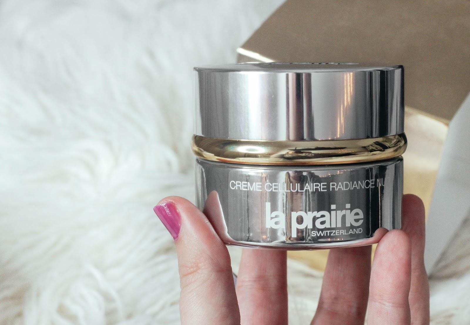 La Prairie cellular radiance night cream review