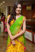Reetu varma sizzling in half saree-thumbnail-7