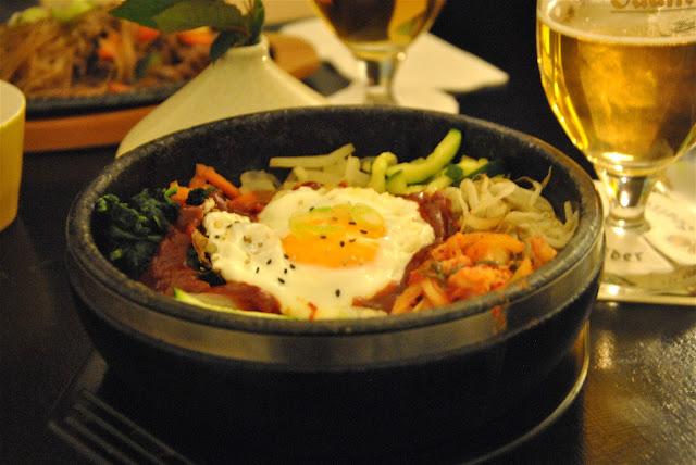 MARU - Koreanisches Restaurant: Bibimbap ohne Fleisch
