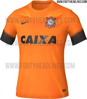 gambar detail dan  bocoran jersey Jersey Corinthians third terbaru musim depan 2015/2016 di enkosa sport toko online pakaian bola terpercaya