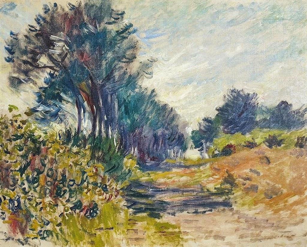 Pins à Varengeville (1882)