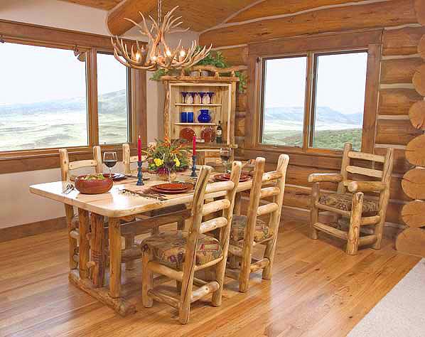 Rustic Dining Room Decorating