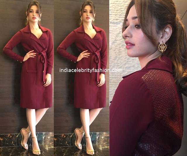 Tamannah bhatia in Quo India Dress