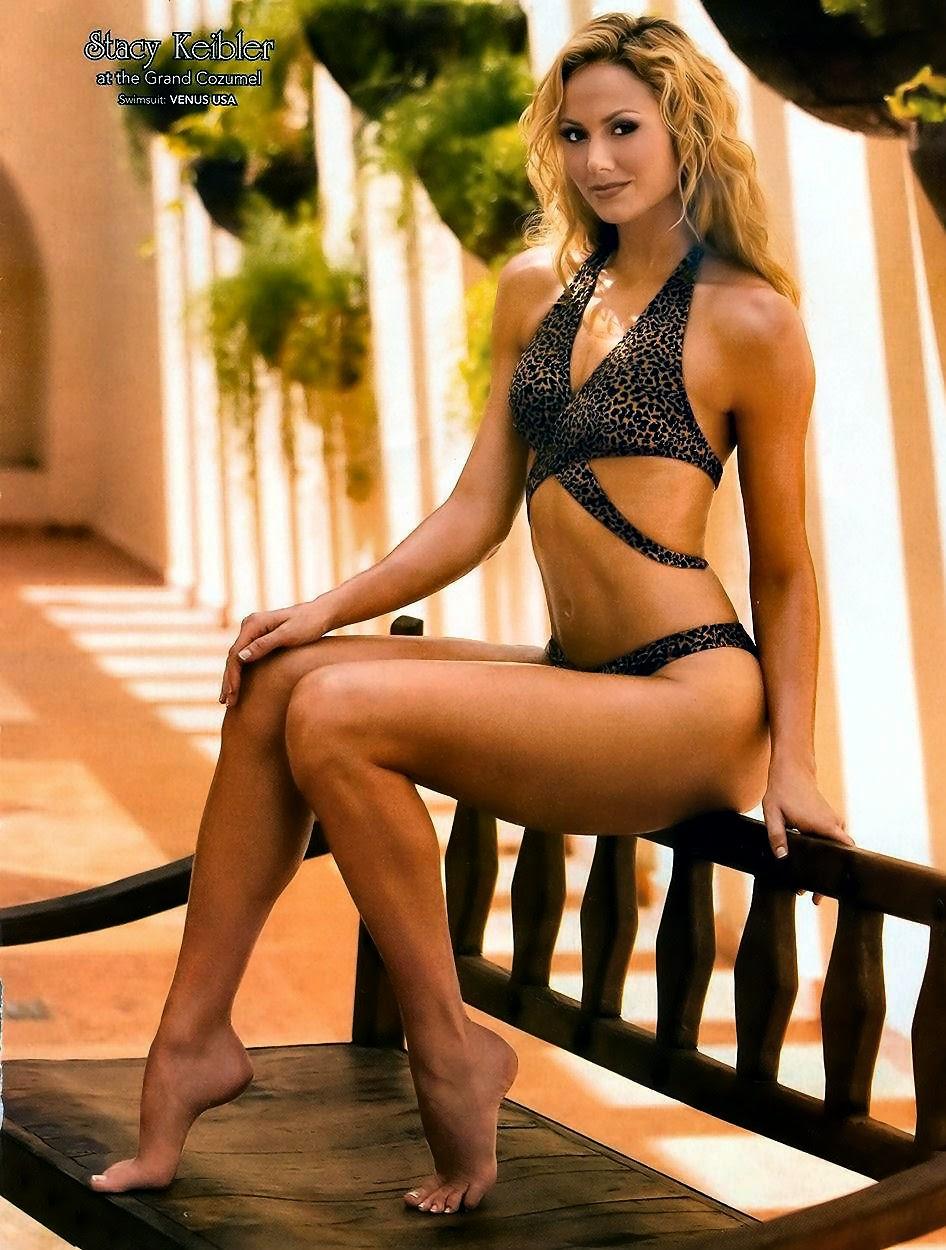 Stacy Kiebler hot legs and bare feet
