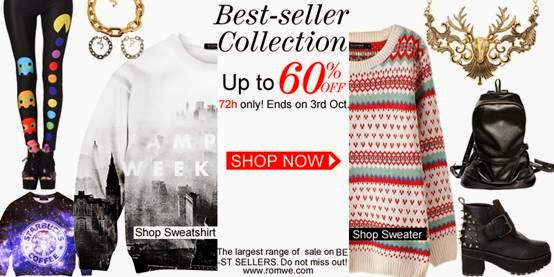 Romwe Bestseller Sale - Up to 60% off!