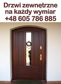 Drzwi zewnętrzne na wymiar