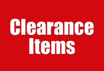 Clearence Items