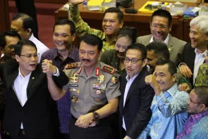 DPR Setujui Tersangka Korupsi Budi Gunawan Jadi Kapolri