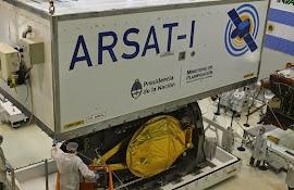 Arsat-1 fue acondicionado para su traslado a Guayana Francesa