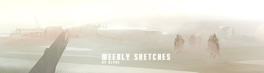 Weekly Sketches / sylvain coutouly