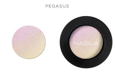 Nabla Cosmetics Pegasus eueshadow duochrome ellenoirmakeup