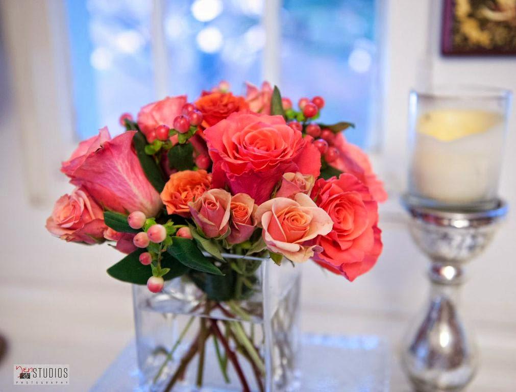 Diy dinner party floral arrangement city chic living for Flower arrangements for parties