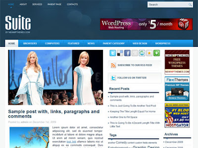 FREE Suite WordPress Theme
