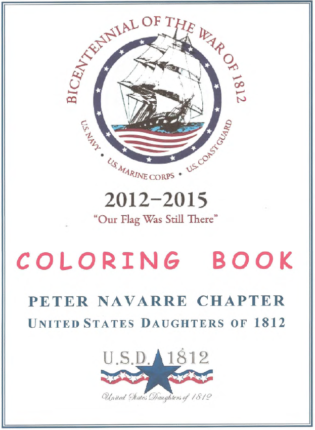 Free war of 1812 coloring pages for War of 1812 coloring pages