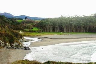 Vista de la playa de Frejulfe