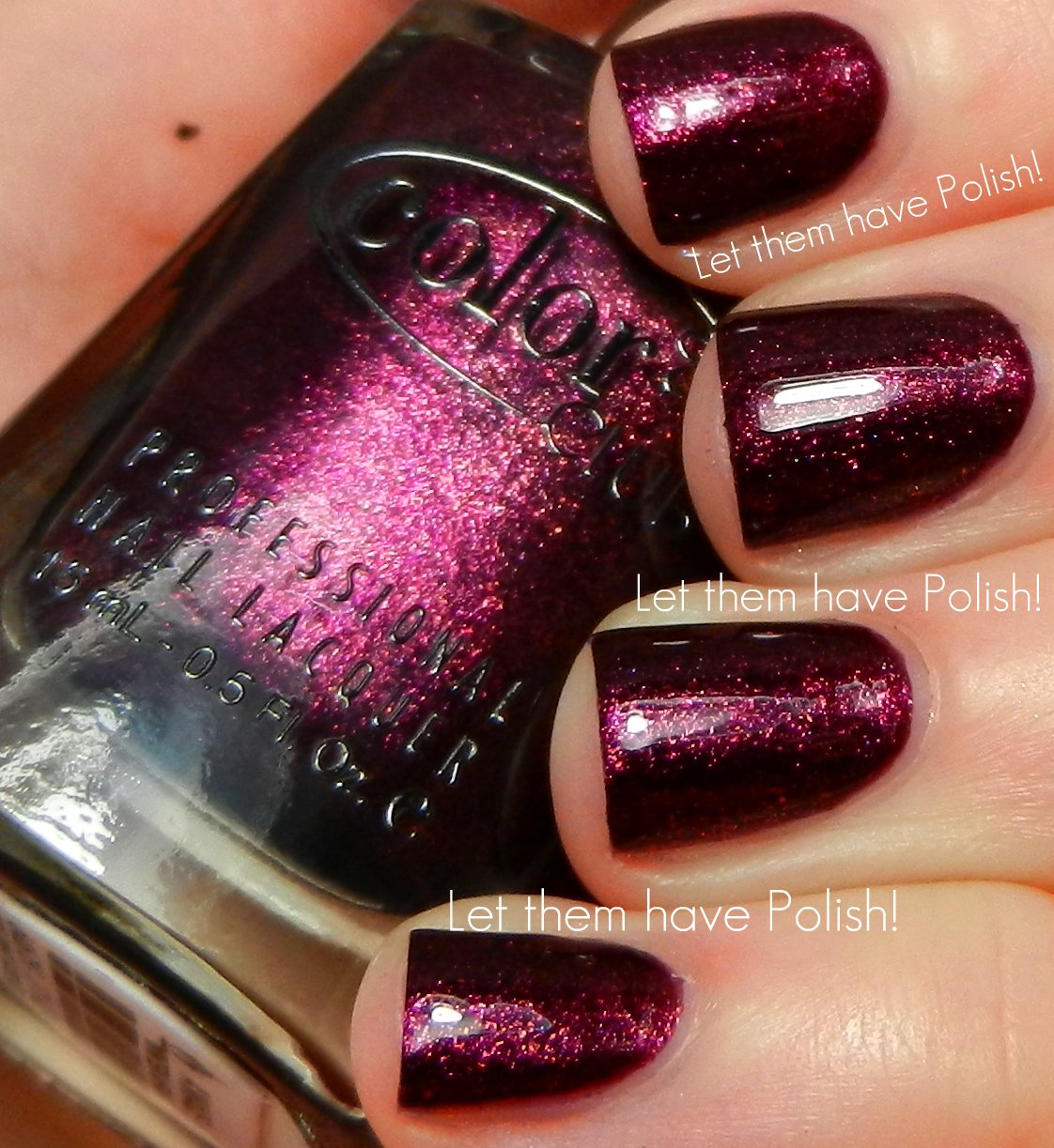 Color Club Winter Affair Holiday 2012 Collection Swatches