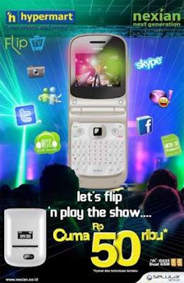 Nexian Flip TV NX-G925 Spesifikasi harga promo