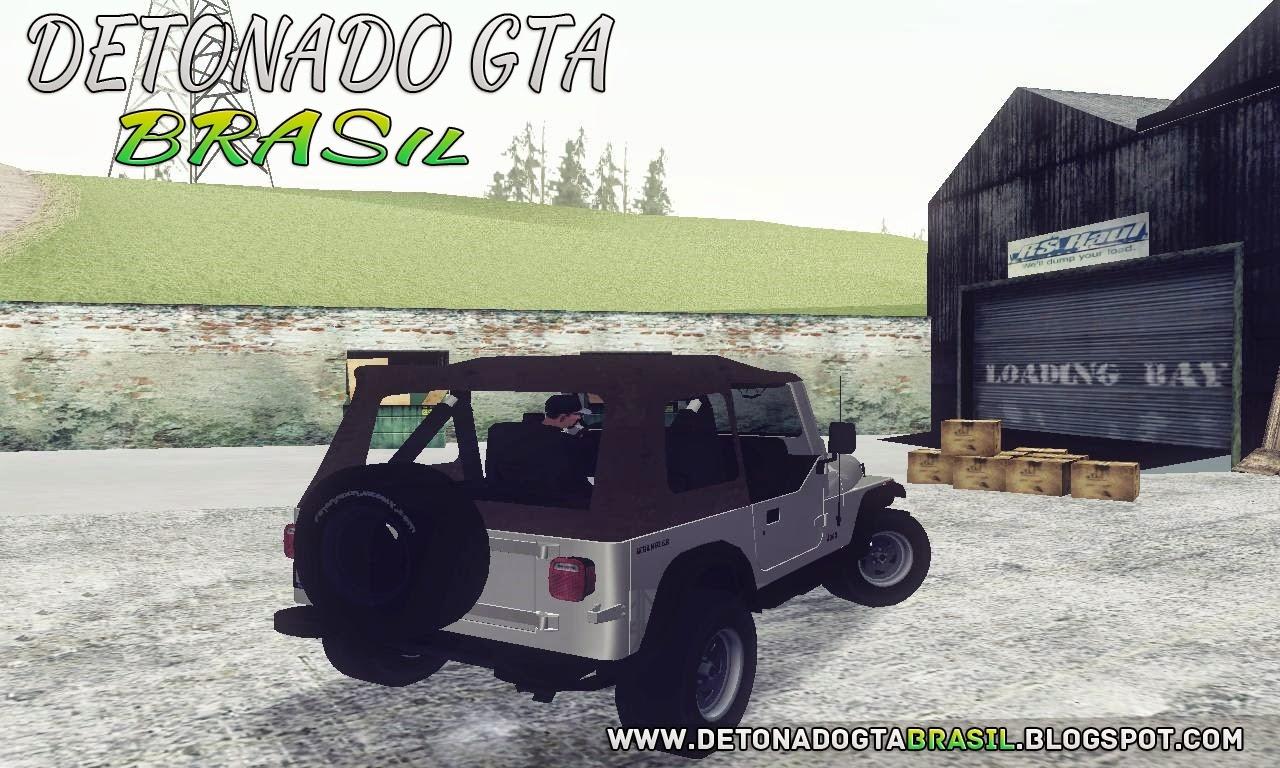 GTA SA - Jeep Wrangler
