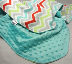 spits+n+giggles+chevron+blanket+REZISE All Things Baby Ultimate Giveaway