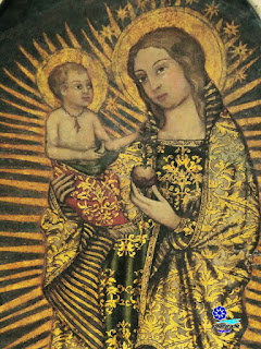 Virgen del Coral (detalle) - Iglesia de San Ildefonso - Sevilla