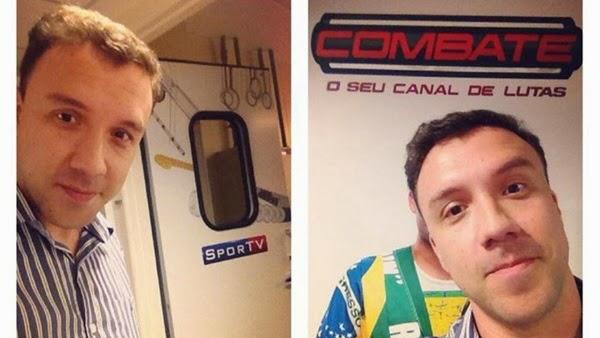 Luiz Prota é o novo narrador dos canais SporTV e Combate (Foto: Reprodução/Twitter)