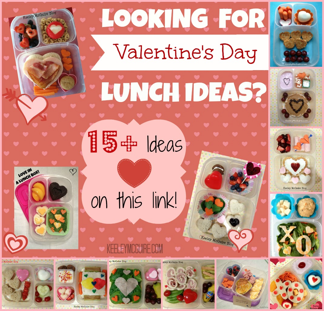 Lunch Made Easy: 15+ Valentineu0027s Day Ideas For School Lunches