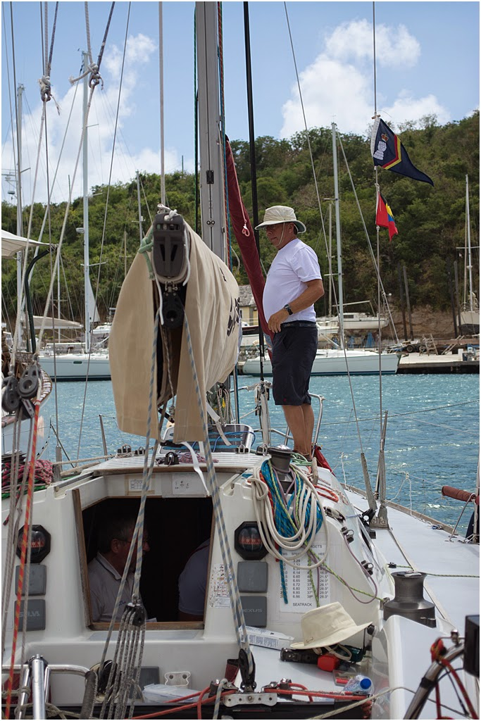 Zarafa skipper and owner of Zarafa Major Peter Schofield
