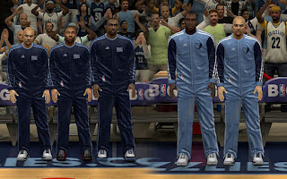 NBA 2K13 Memphis Grizzlies Warmup Uniforms Patch