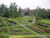 Foto del jardín de la casa Mohonk Mountain Foto del jardín de la casa Mohonk Mountain, es un hotel ubicado en Estados Unidos